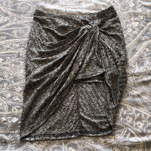 Rue21 Gray Mini Skirt